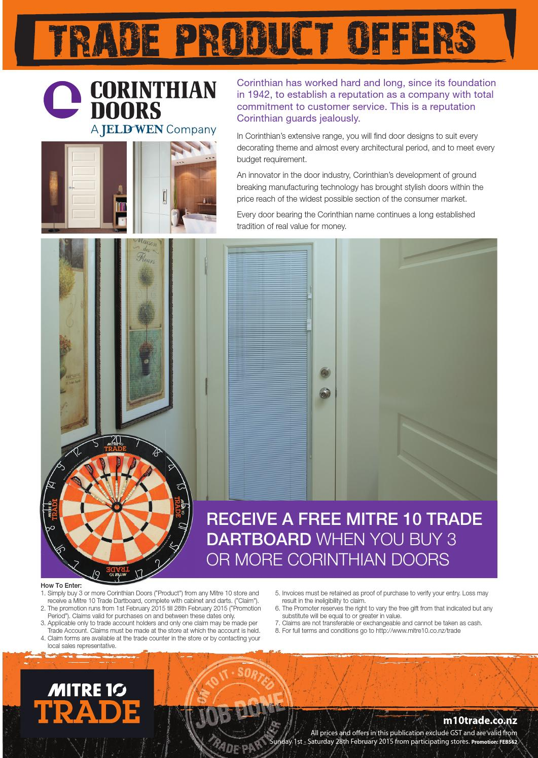 Mitre 10 Trade Offers - February 2015 by DraftFCB - issuu