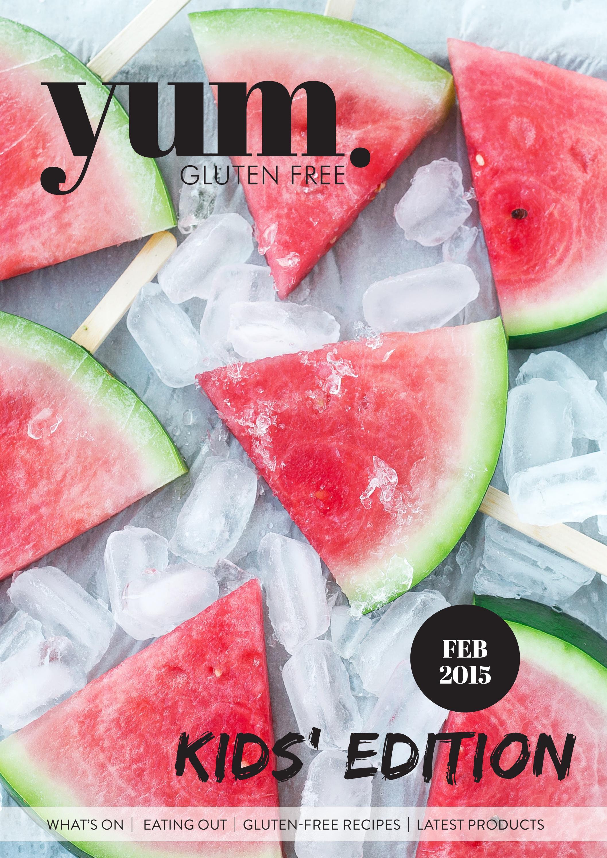 Book Cover Forros Recipe ~ Yum gluten free magazine feb by issuu