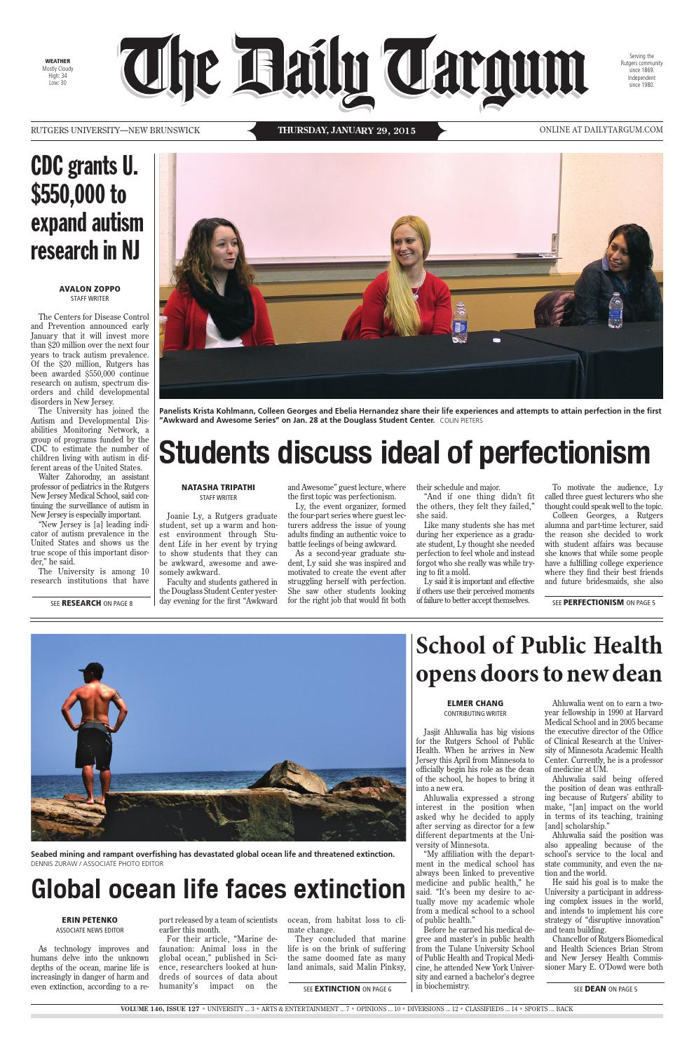 The Daily Targum 2015-01-29 by The Daily Targum - issuu 08858c4f3