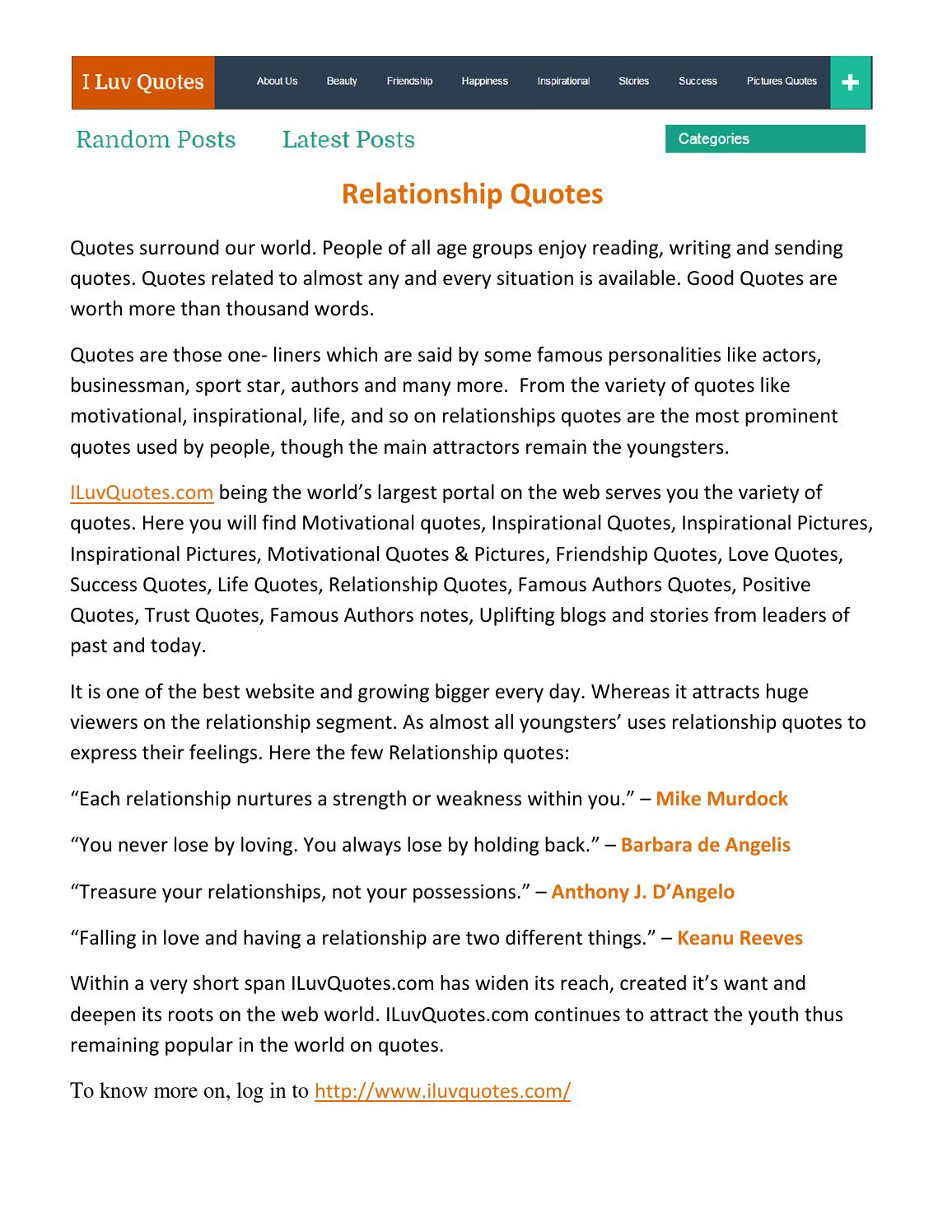 Relationship quotes pdf by deepak kumar   issuu