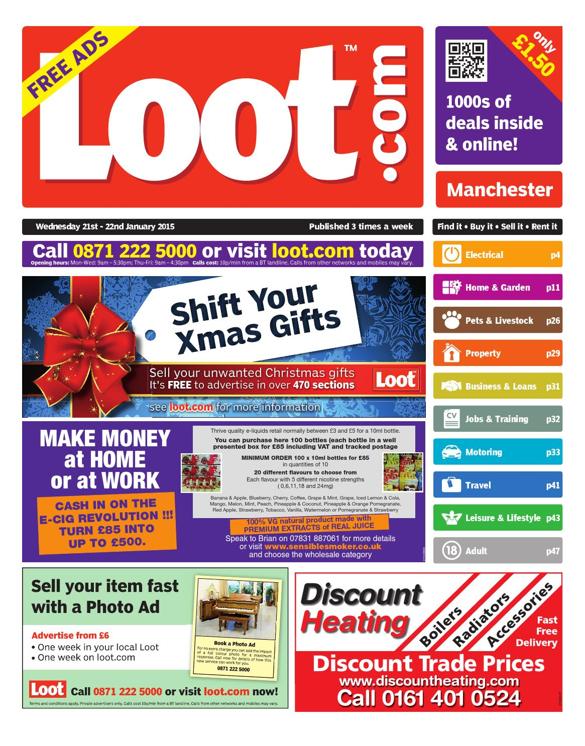 Loot Manchester 21 22 January 2015 by Loot issuu
