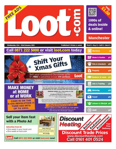 1308e1b8e18 Loot Manchester 21-22 January 2015 by Loot - issuu
