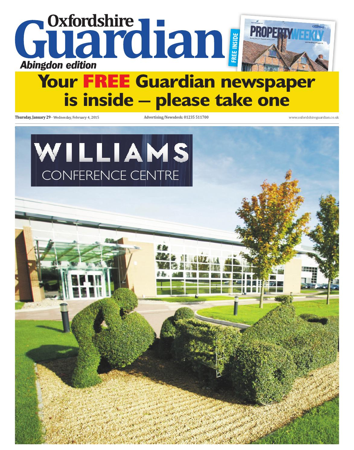 foto de 29 january 2015 oxfordshire guardian abingdon by Taylor Newspapers ...