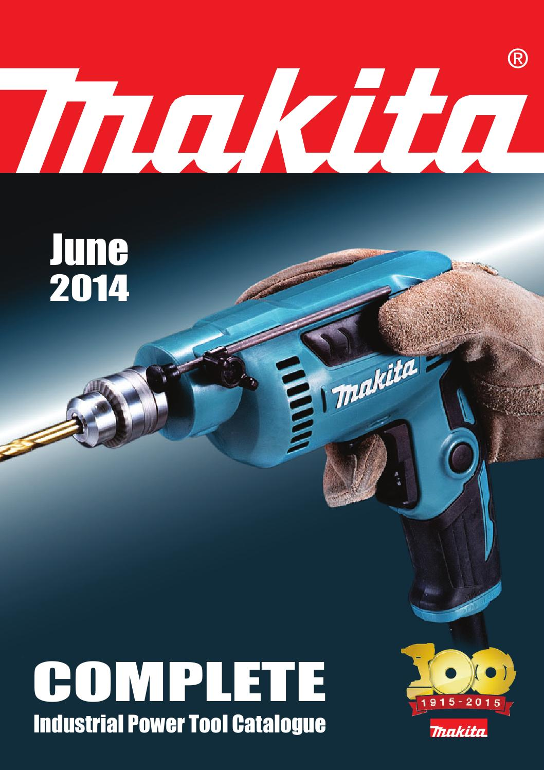 Makita Power Tool Catalog 2014 By Alf Allingham Issuu