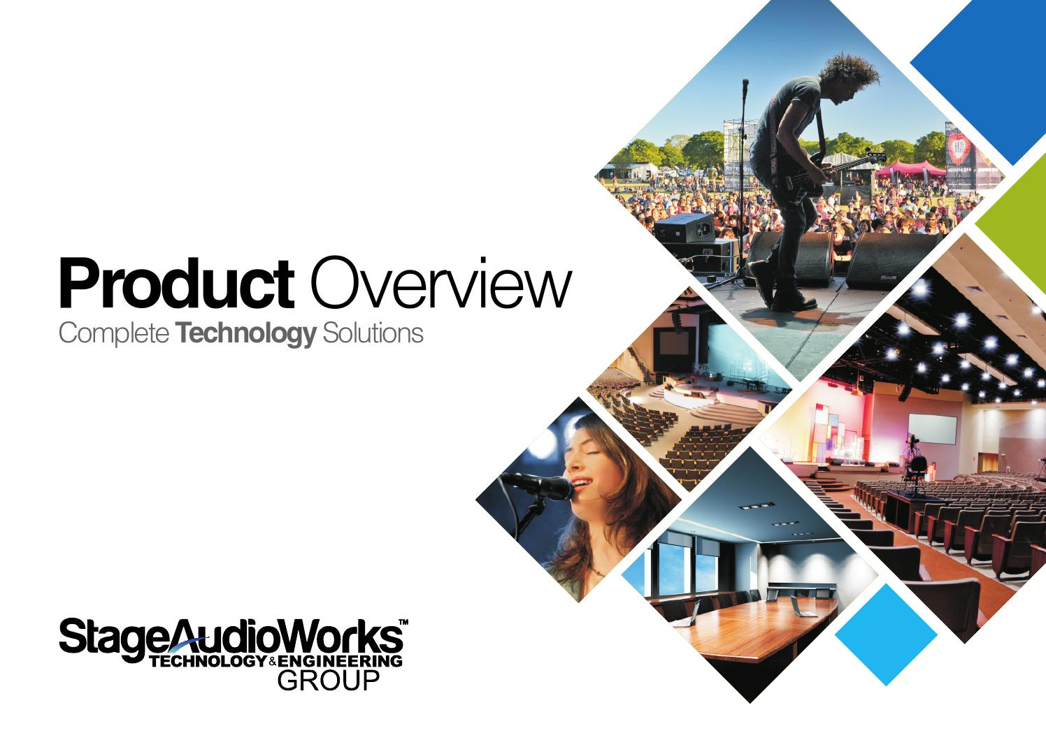 StageAudioWorks - Product Overview by Riggsy83 - issuu