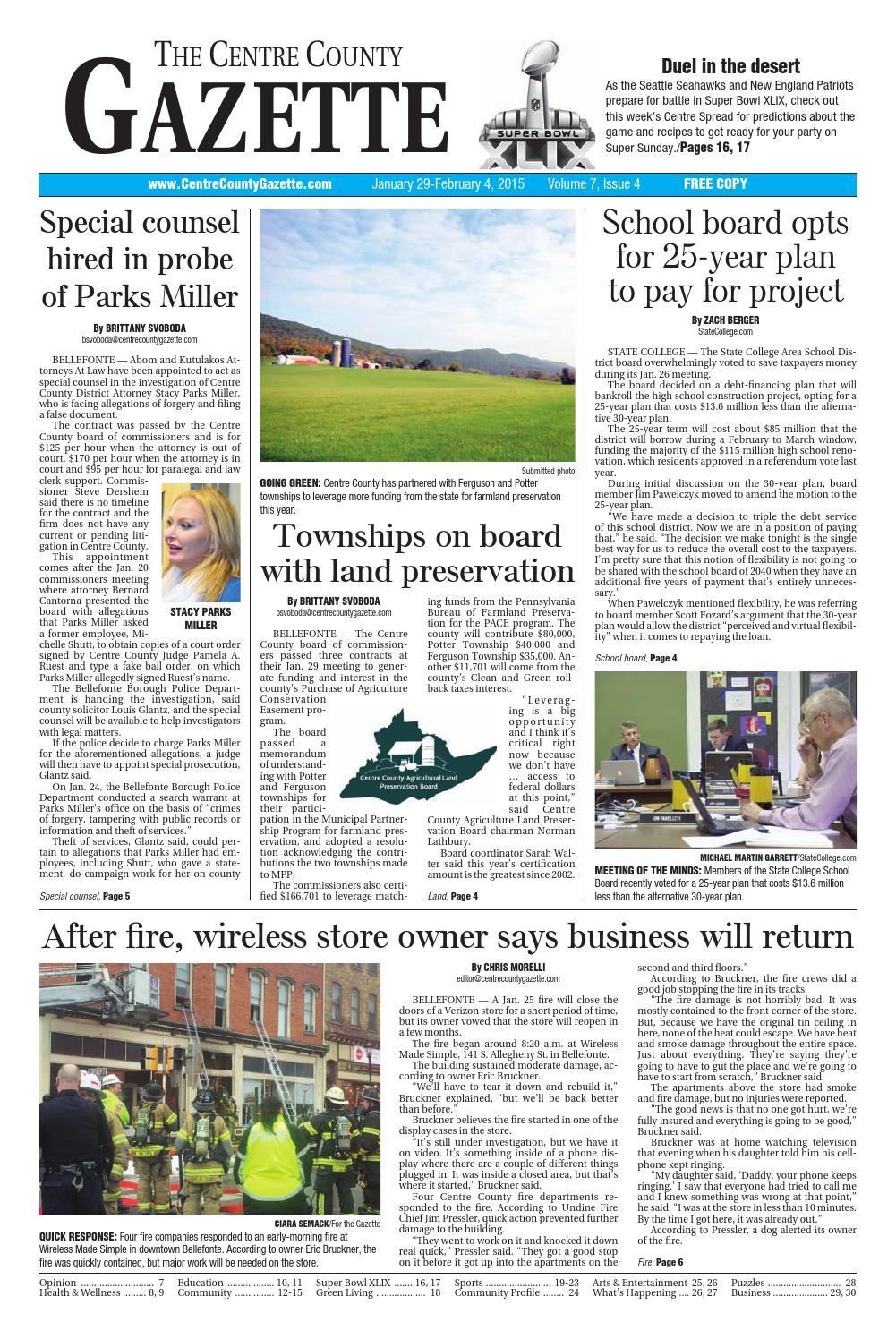 c7aa02dc68c 1 29 15 centre county gazette by Centre County Gazette - issuu