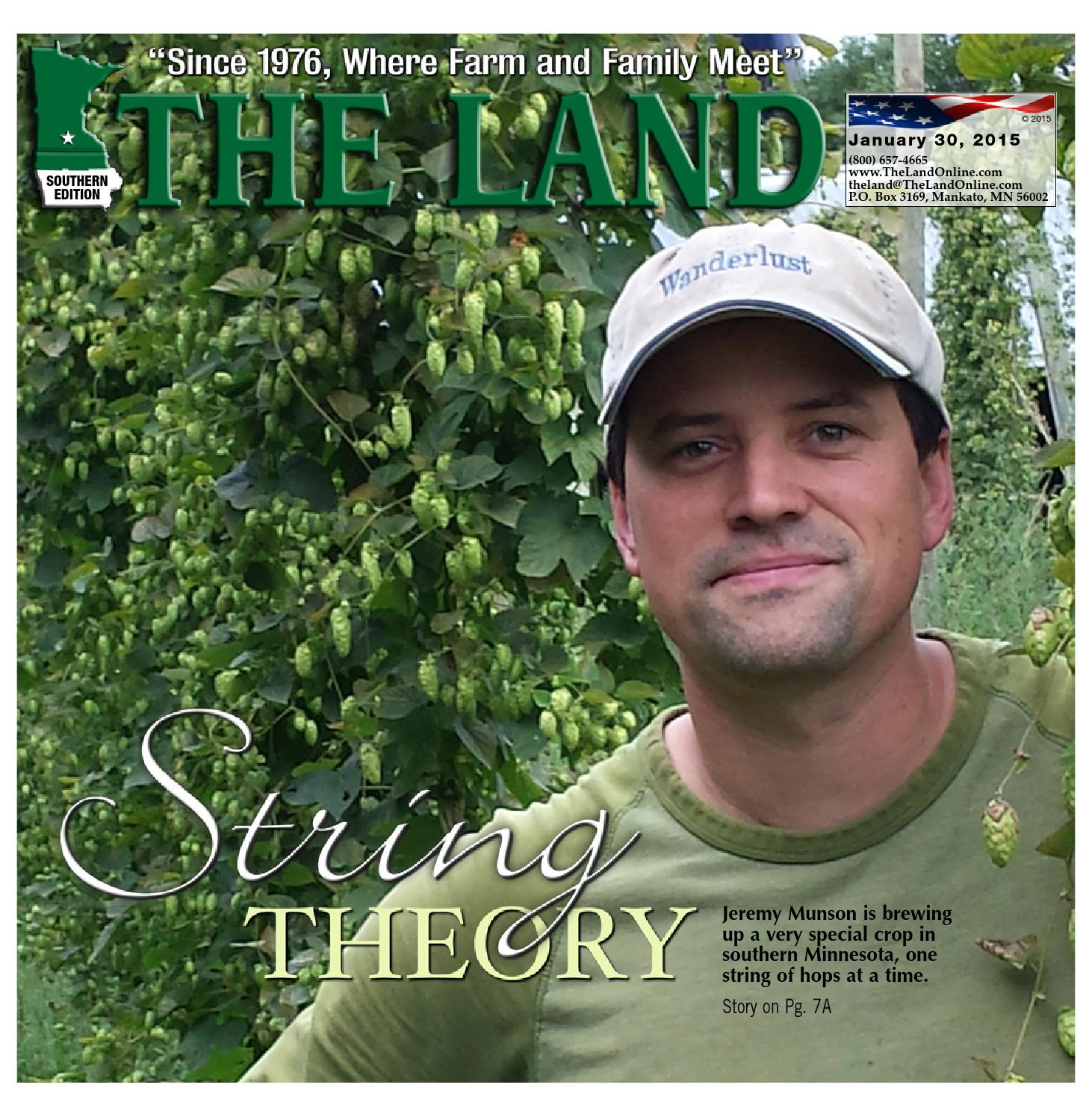 THE LAND ~ Jan. 30, 2015 ~ Southern Edition.