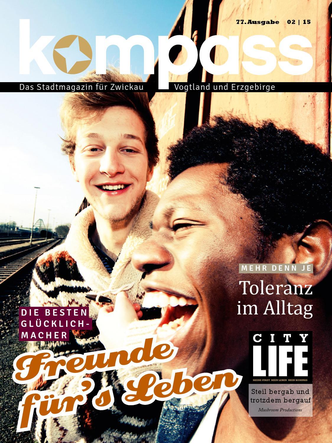 KOMPASS Stadtmagazin Ausgabe 02 | 15 by KOMPASS stadtmagazin - issuu