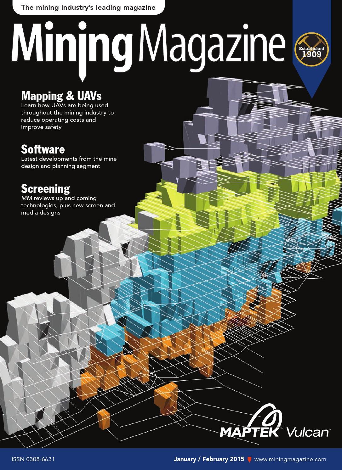Mining Magazine January/February 2015 by Webmaster Aspermont Media - issuu