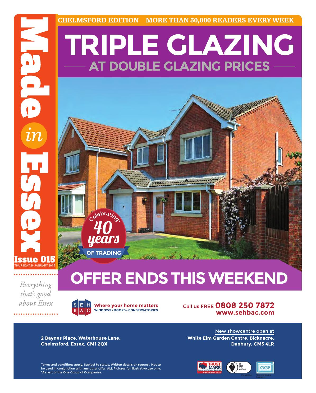 Made In Essex - Issue #15 (Chelmsford edition) by Made In