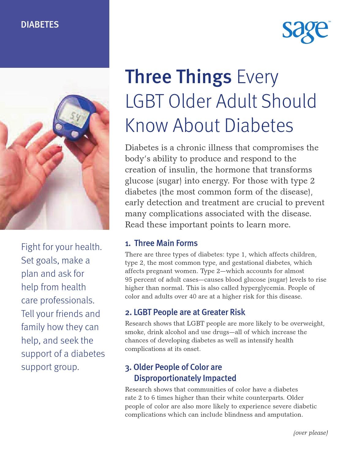 diabetes for older adult