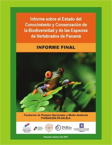 Informe sobre el estado de conocimiento y conservación de ...