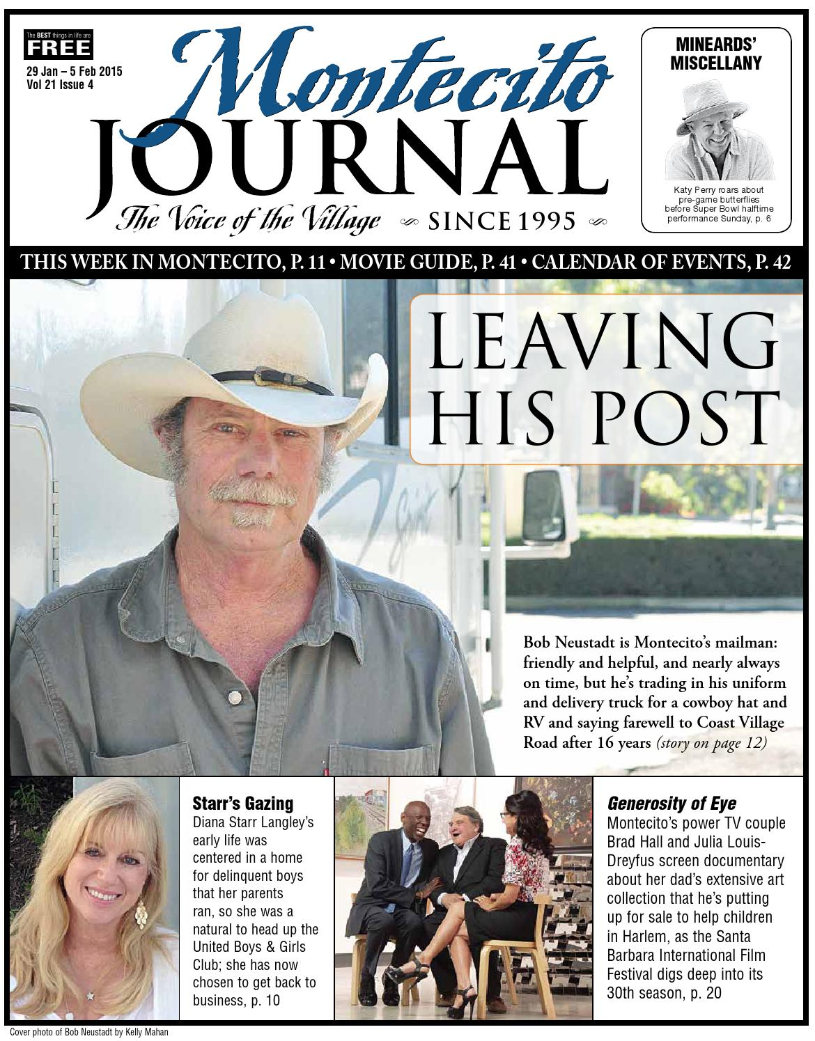 1eca06f93 Leaving His Post by Montecito Journal - issuu