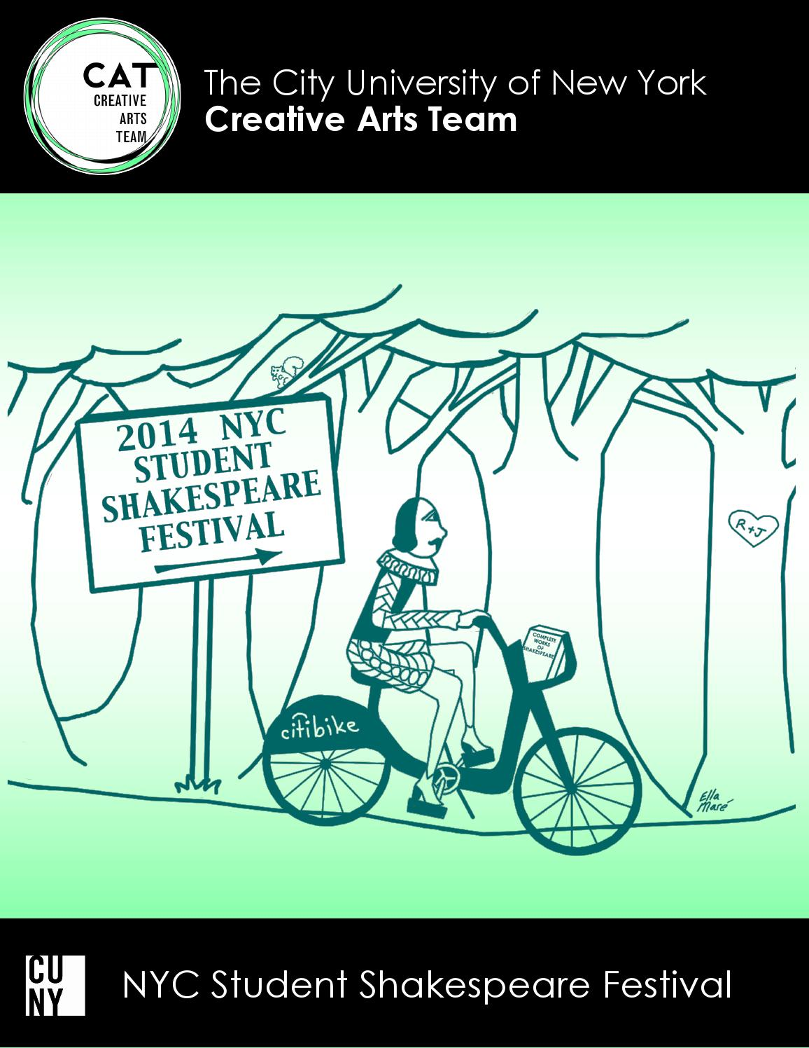 2014 NYC Student Shakespeare Festival By CUNY Creative