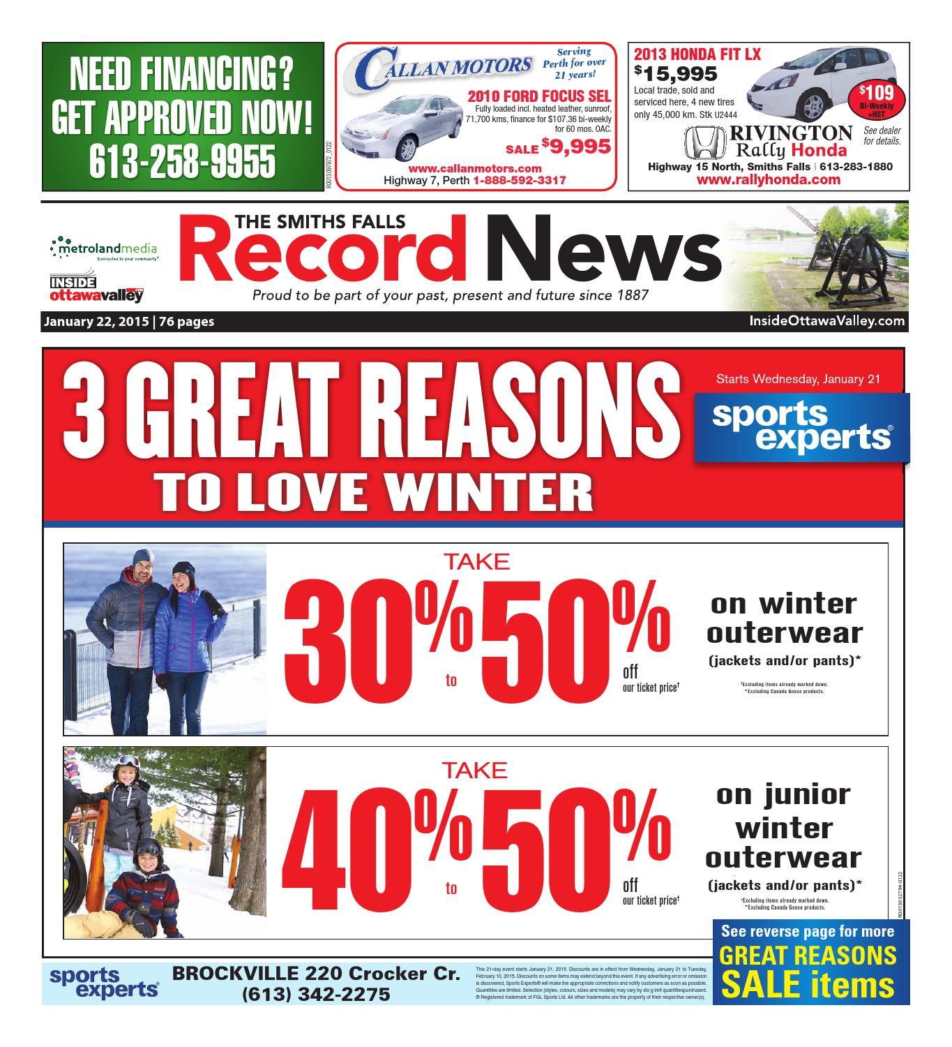b7f2bfef6a882 Smithsfalls 01222015 by Metroland East - Smiths Falls Record News - issuu