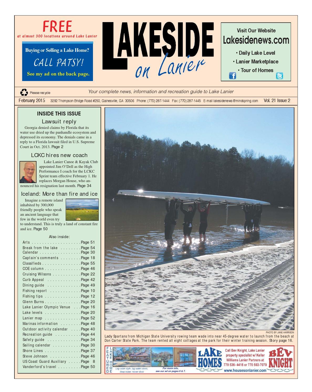 Lakesideonlanierfebruary2015 by Lanier Publishing Inc  - issuu