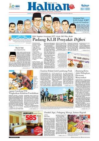 Haluan 30 Januari 2015 by Harian Haluan - issuu