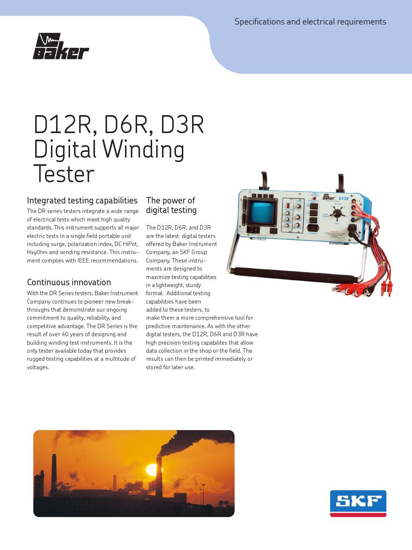 Baker D12r D6r D3r By Skf Del Per Issuu Wiring Diagram