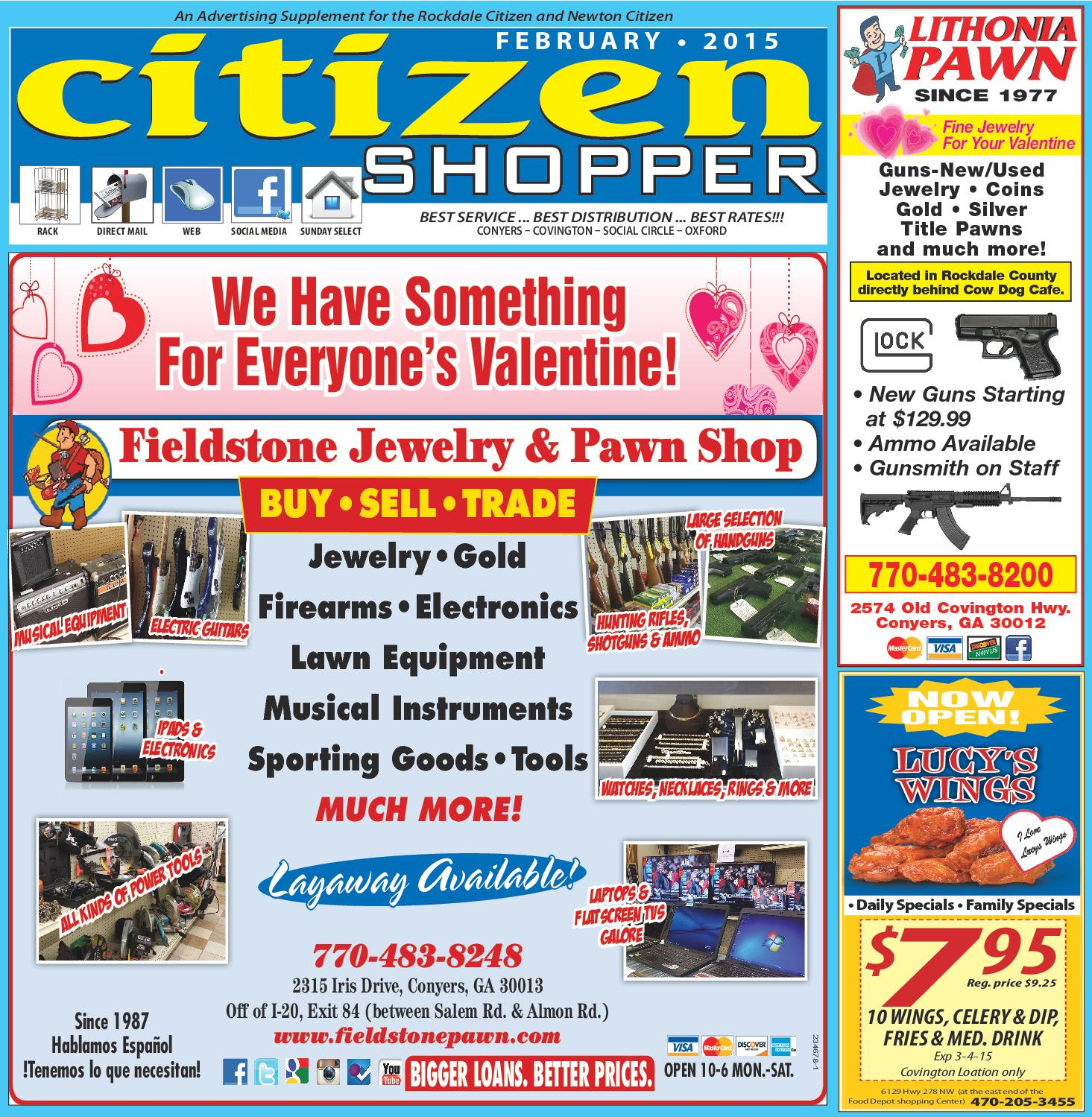 February 2015 Citizen Shopper By The Special Section