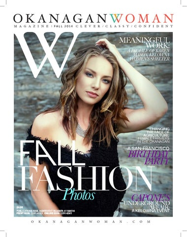 Okanagan woman fall 2014 by okanagan woman magazine issuu page 1 fandeluxe Gallery