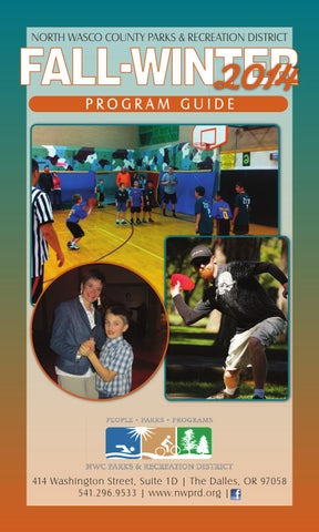 Fall 2014 Program Guide by Northern Wasco County Parks