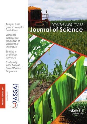 South african journal of science volume 111 issue 12 by south page 1 fandeluxe Gallery