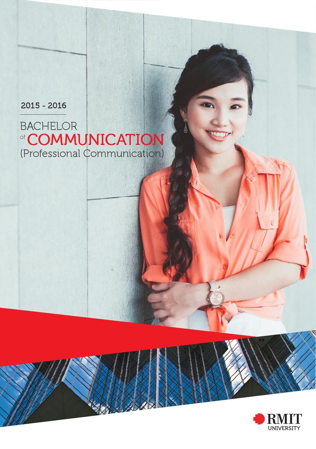 Rmit Bachelor Of Communication Professional Communication 2015 By Rmit Vietnam Press Office Issuu