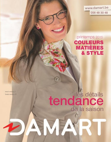 ce82274f2736 1412115 DAMART BELGIQUE - Cata 56 Pages - Tendance - Page 01 - FR