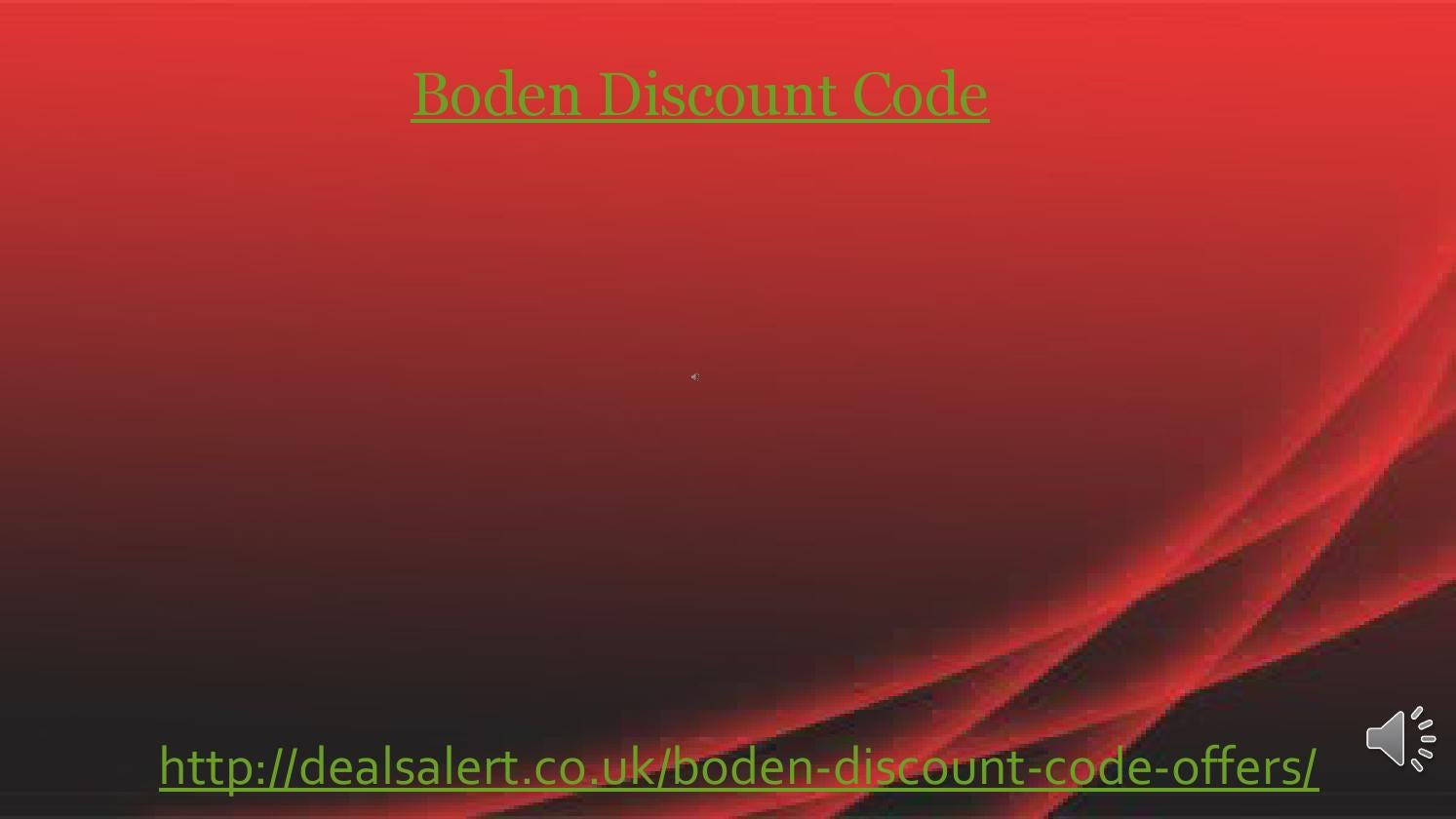 Boden Discount Code By Accuratedeath Issuu