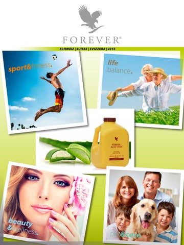 maxi product brochure by forever living products (switzerland, Hause ideen
