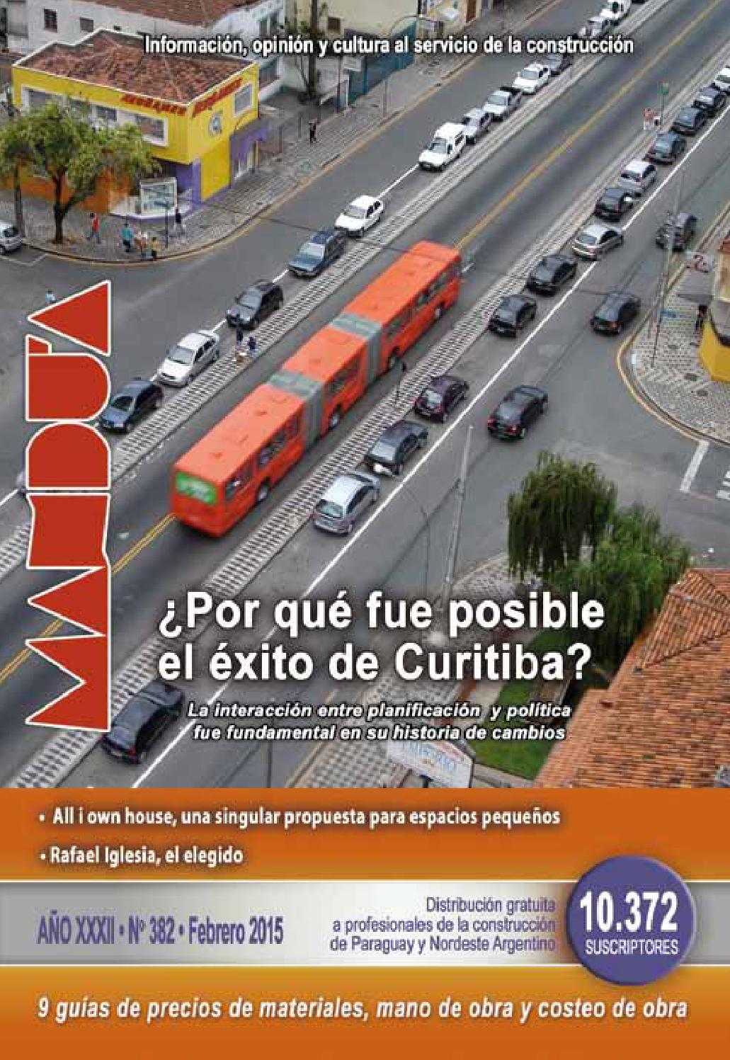 Revista Mandu\'a - #382 - Febrero 2015 by Revista Mandu\'a - issuu