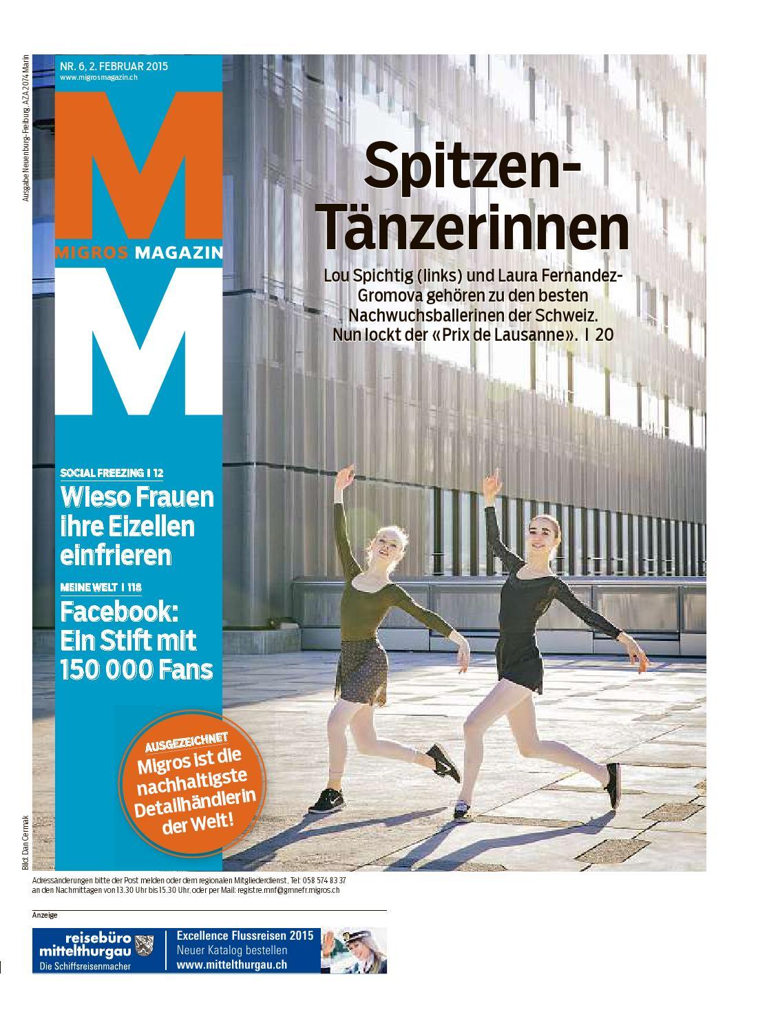 Migros magazin 06 2015 d ne by Migros-Genossenschafts-Bund - issuu