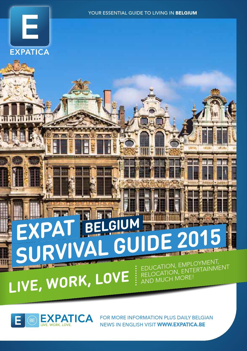 Expat Survival Guide BE 2015