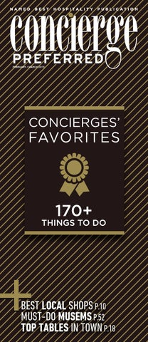 58cacaf490 Concierge Preferred February – March by Concierge Preferred - issuu