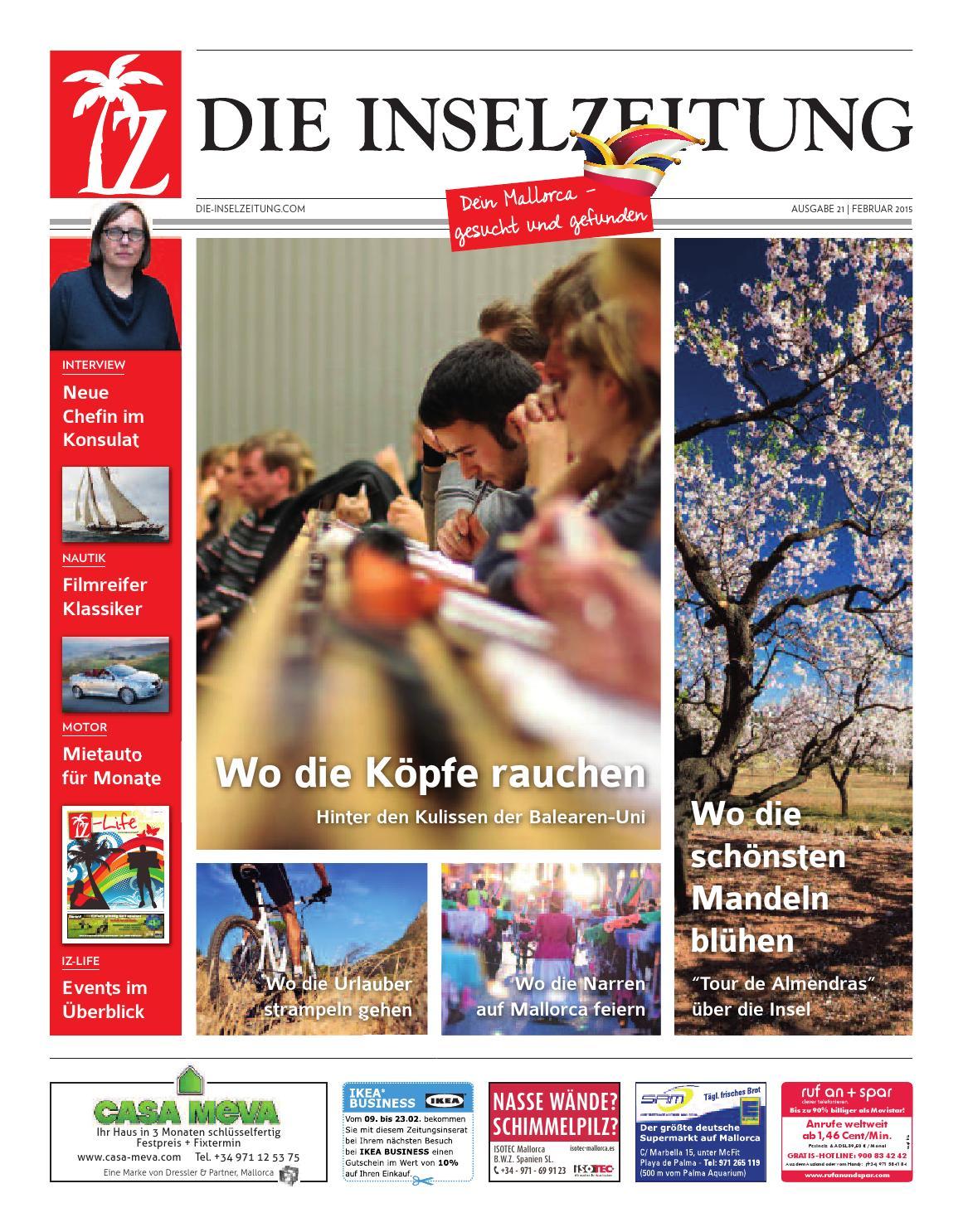 die inselzeitung mallorca februar 2015 by die inselzeitung, Schlafzimmer entwurf
