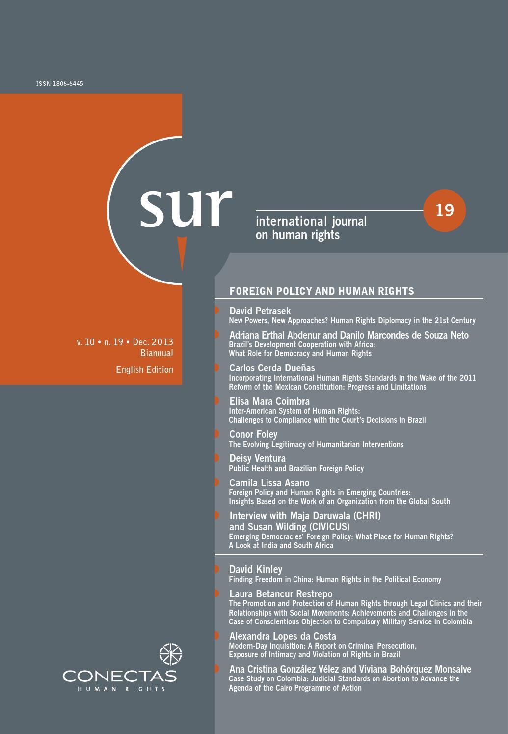 SUR 19 by Conectas Direitos Humanos - issuu