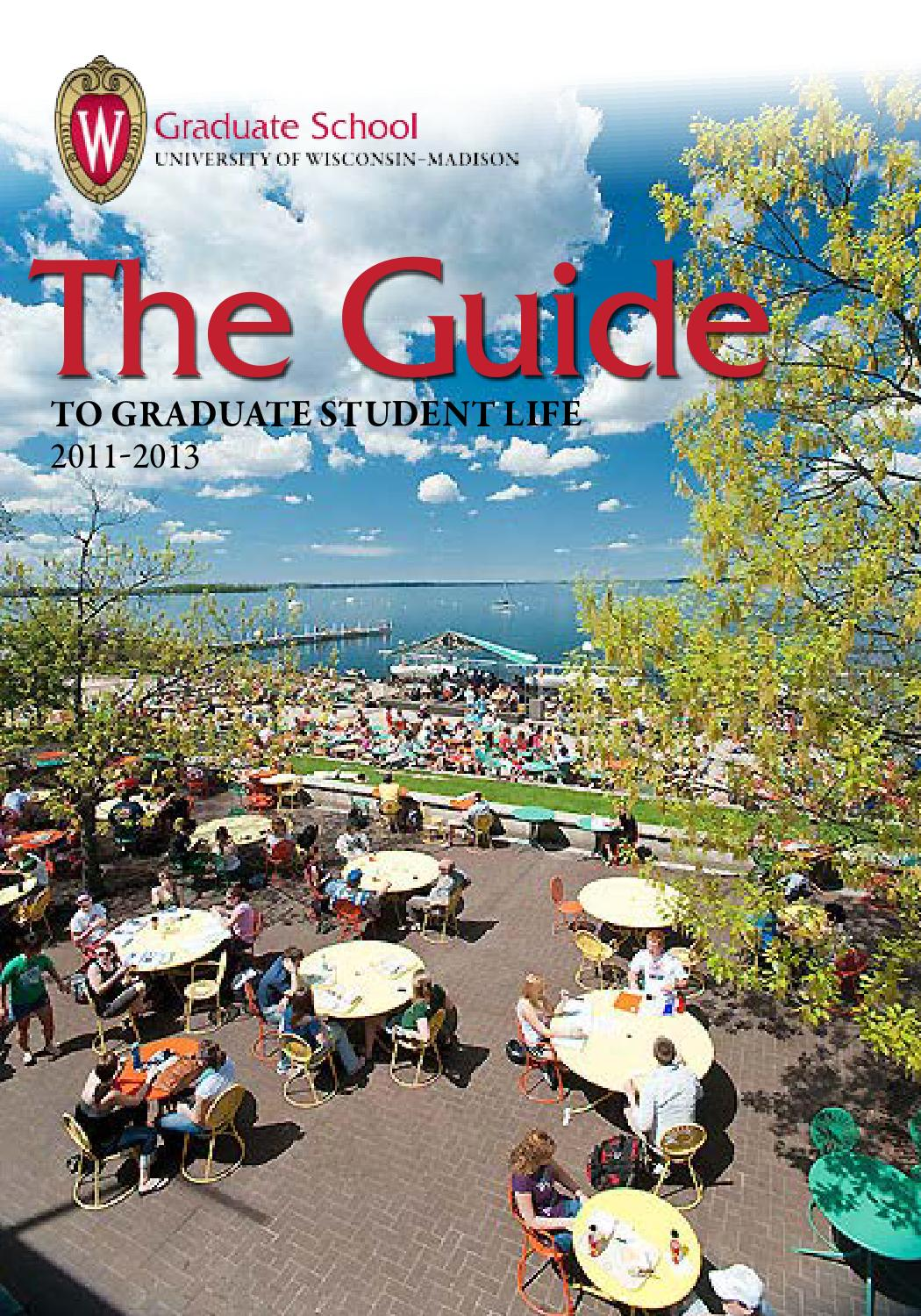 Three Bright Planets Over Wingra Park >> The Guide To Graduate Student Life By Uwgs Issuu