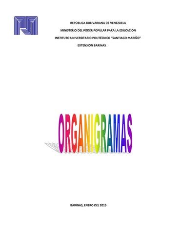 Los Organigramas Como Estructura De Una Organización By