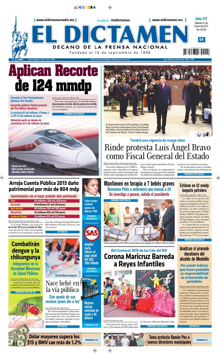 El Dictamen 31 de Enero de 2015 by El Dictamen - issuu dc4c43b011e