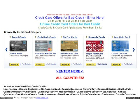 unsecured cards for bad poor credit best offers - Prepaid Credit Cards No Fees