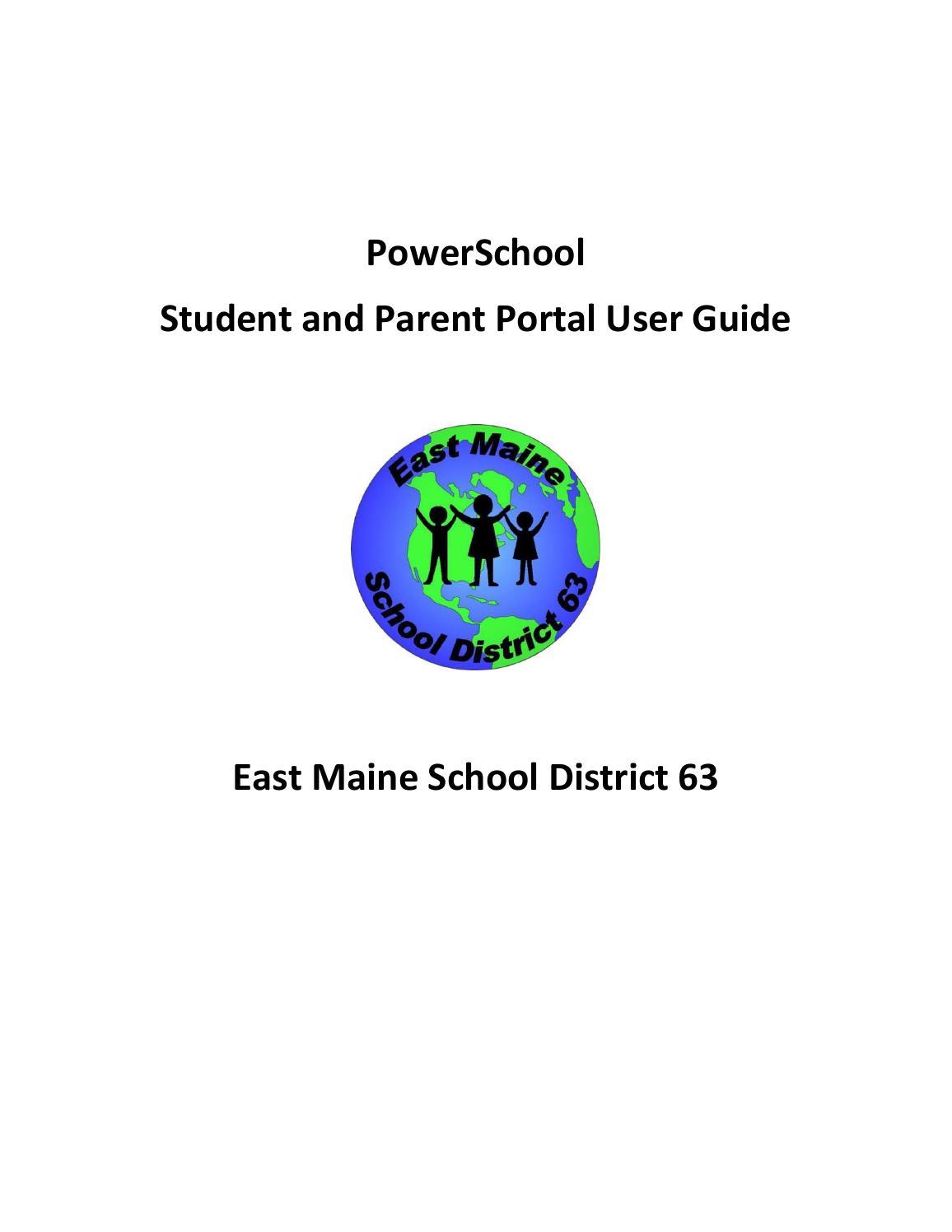 Powerschool Parent Portal User Guide (EMSD63) by Keith