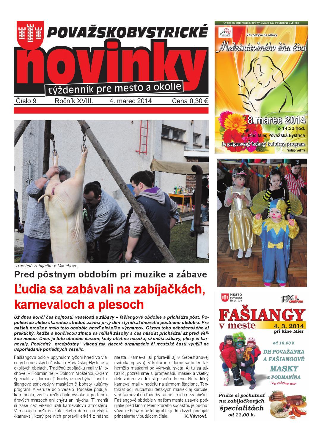 361a092f6dca7 PB novinky_09 / 04.03.2014 by Karol Janas - issuu
