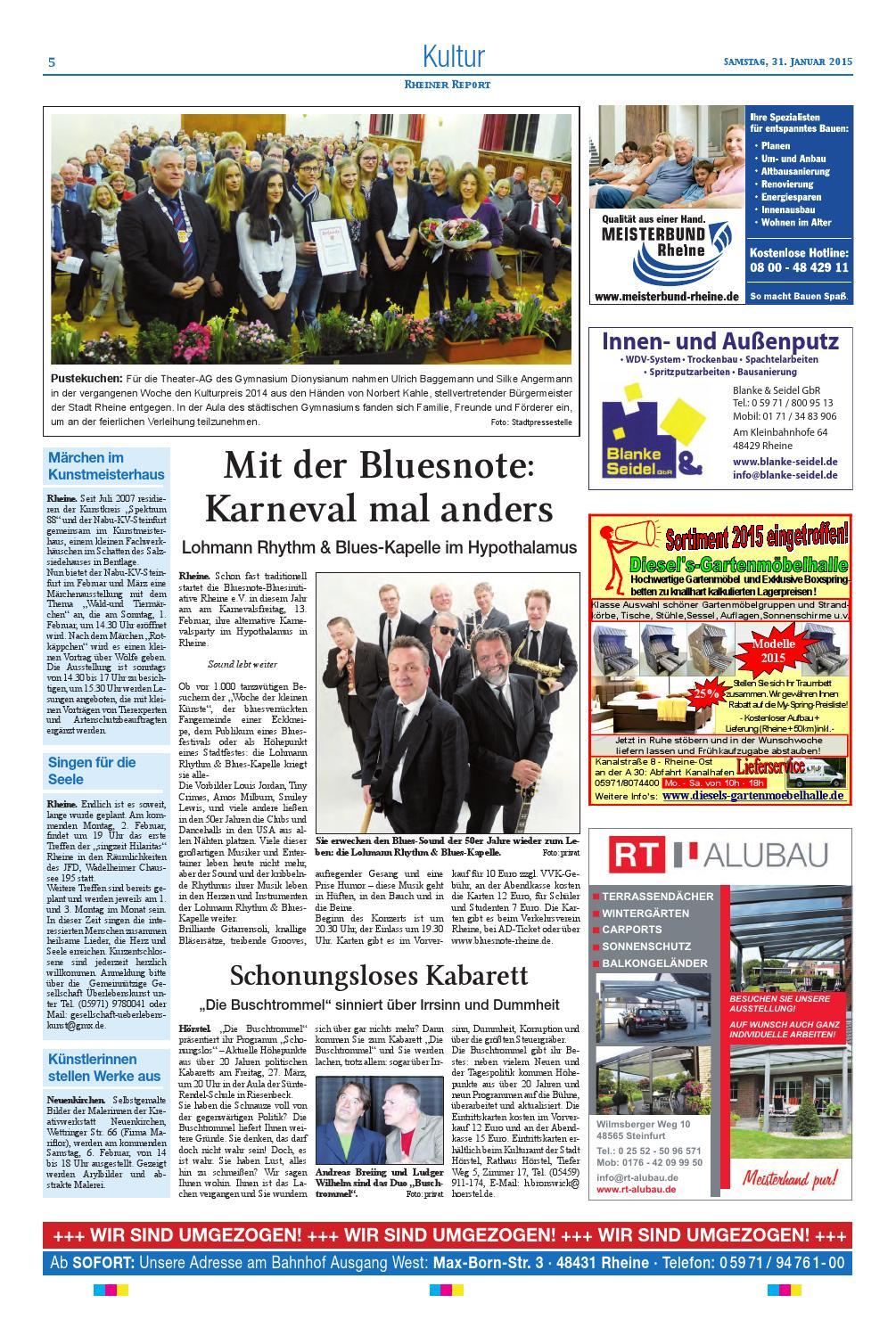 Kw05 2015 By Rheiner Report Gmbh Issuu