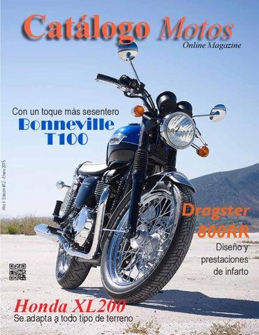 10c5638ca9c Catálogo Motos   12 by Revista MOTORats - issuu