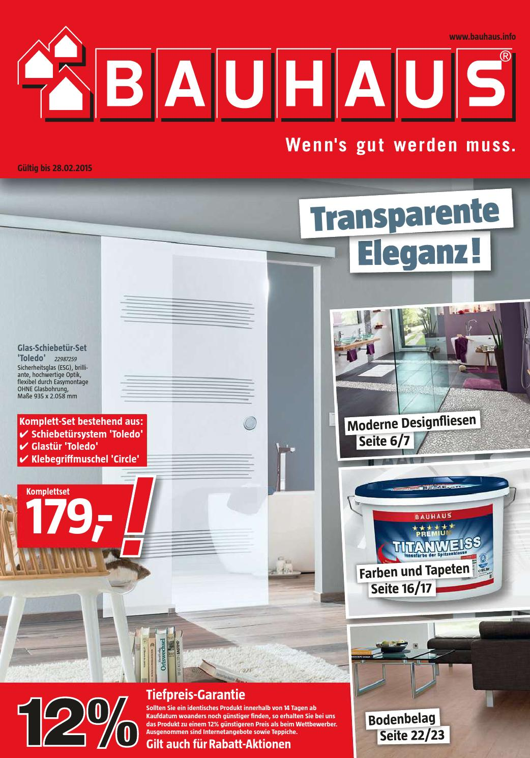 Bauhaus Fliesen Blau Bad Angebote 2 28februar2015 By Promoprospektede Issuu