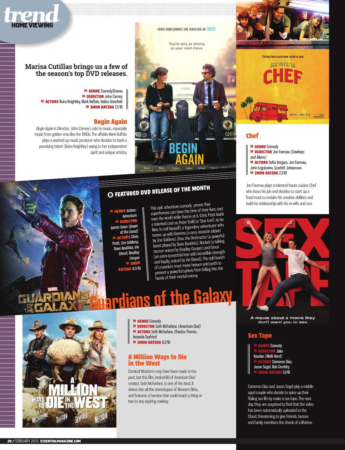 Essential Magazine February 2015 by Publicaciones