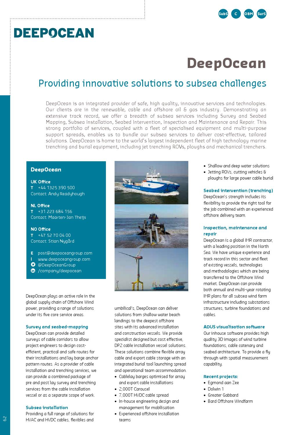 Offshore WIND International Business Guide 2015 by Navingo