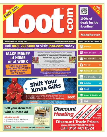 92ae13fbe1e Loot Manchester 25th January 2015 by Loot - issuu