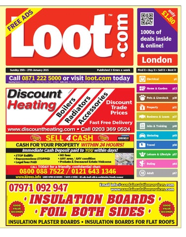 e5bff622445 Loot London 25th January 2015 by Loot - issuu