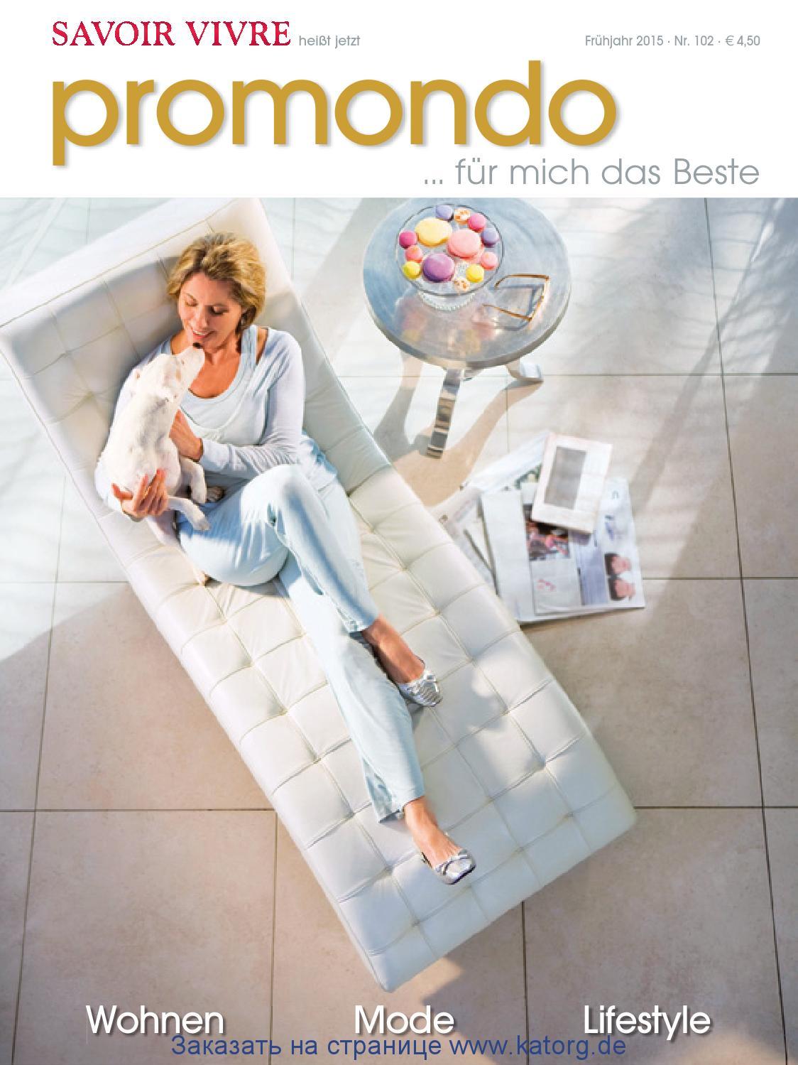 Savoir Vivre Promondo102 by Katorg World of Shopping - issuu